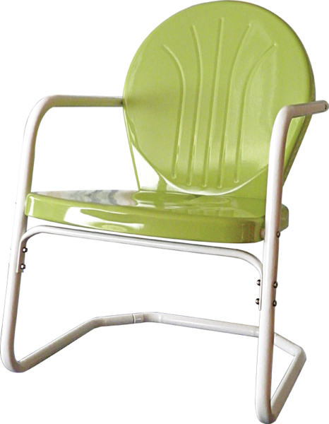 Heavy duty bellaire metal lawn chair bellaire skylark for Heavy duty lawn chairs