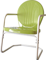 Image Heavy Duty Bellaire Metal Lawn Chairs