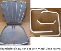 Image Thunderbird Raw Pans with Chair Frame