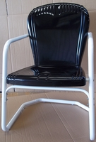 Image Heavy Duty Riviera Metal Lawn Chairs